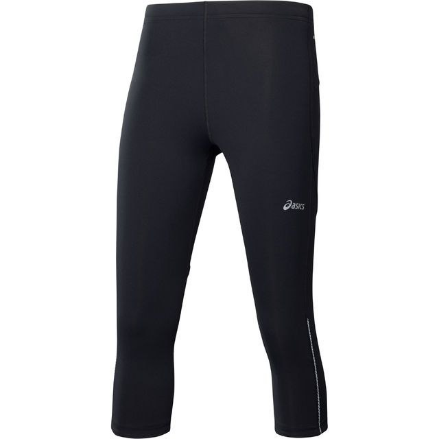 Asics Lady 3/4 Adrenaline Tight in Schwarz
