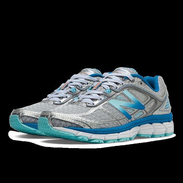 New Balance Lady 860 V5 B in Silver/Blue