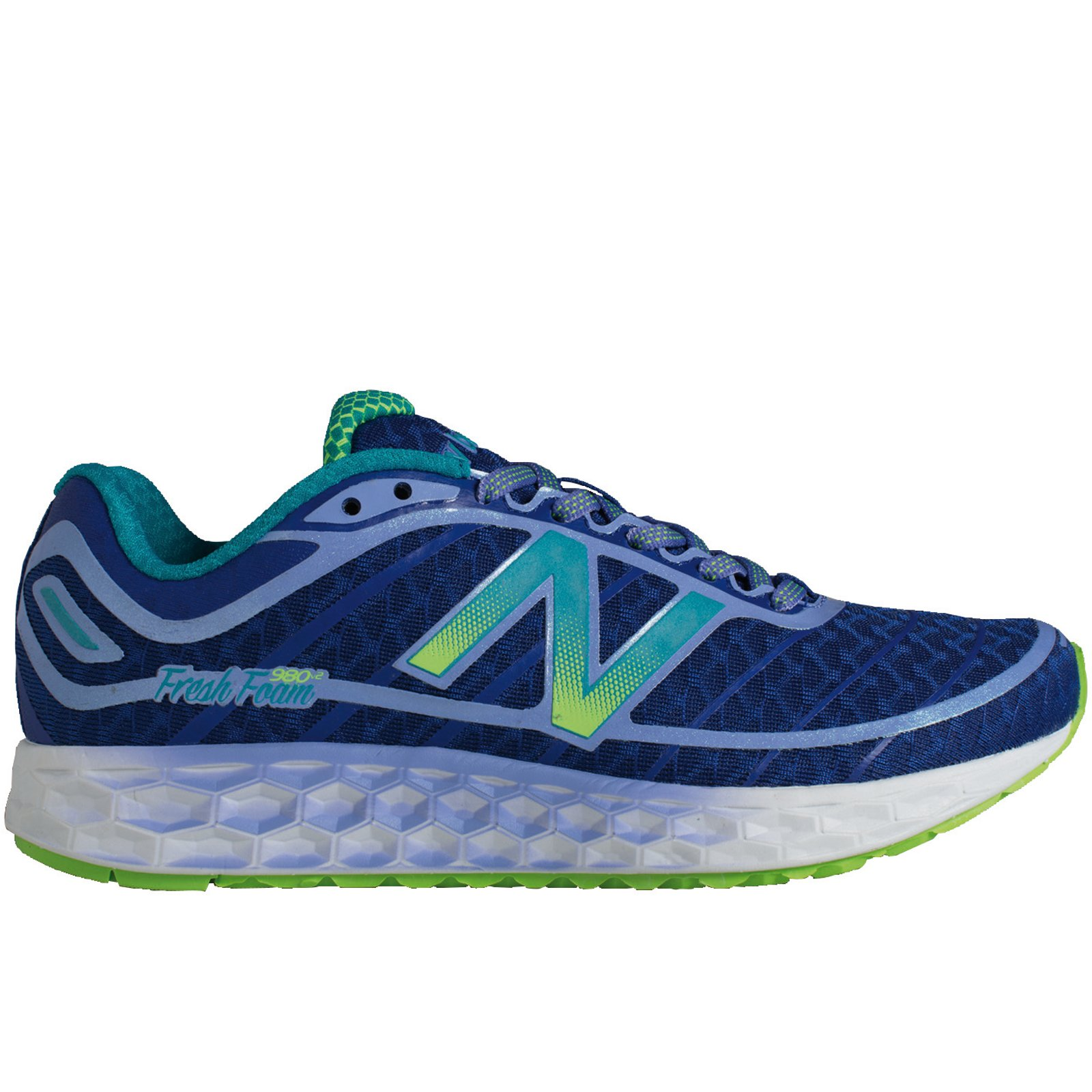 New Balance Lady Boracay 980 in Blue/Green