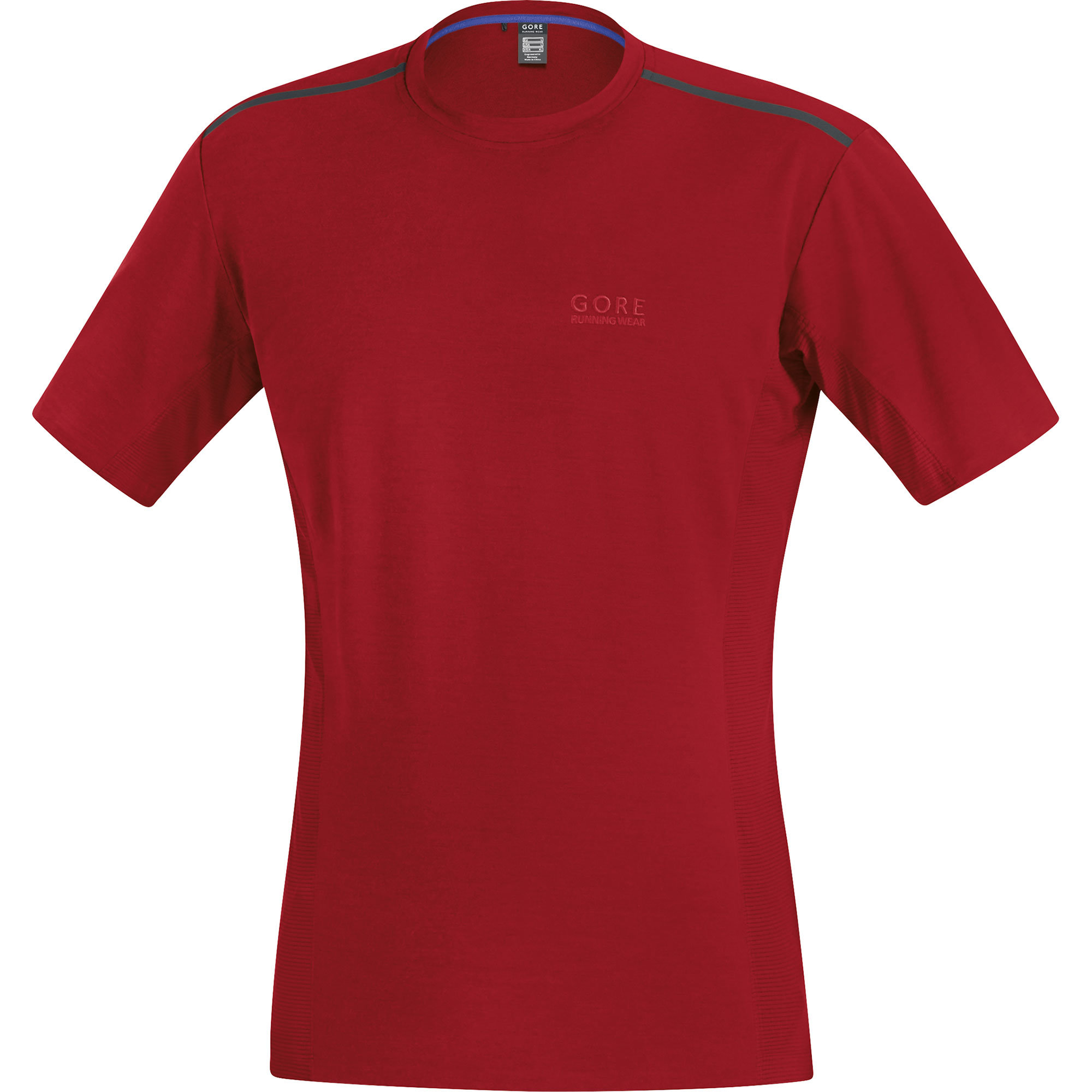Gore Urban Run 2.0 Shirt in Ruby Red