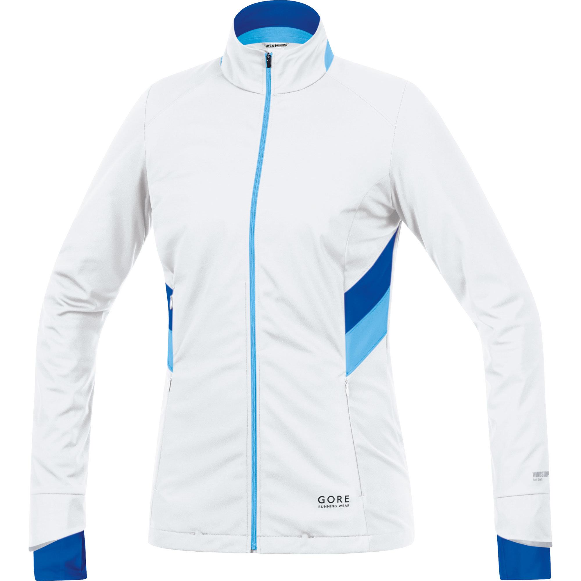 Gore Sunlight WS SO Lady Jacket in Weiss Blau