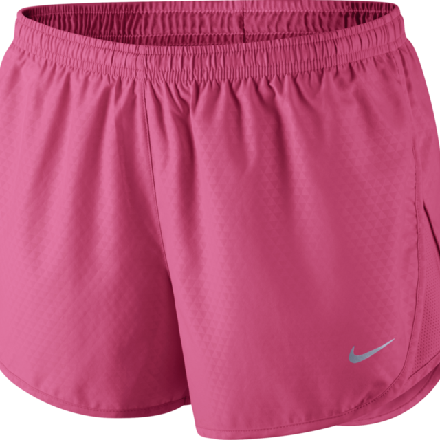 Nike Lady Mod Tempo Emboss Run Short in Pink Reflect