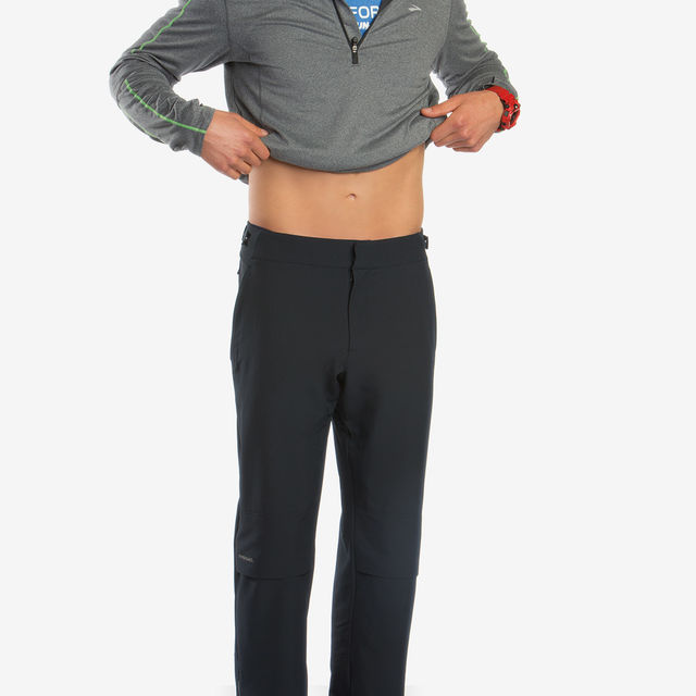 Brooks Thermal Pant in Schwarz