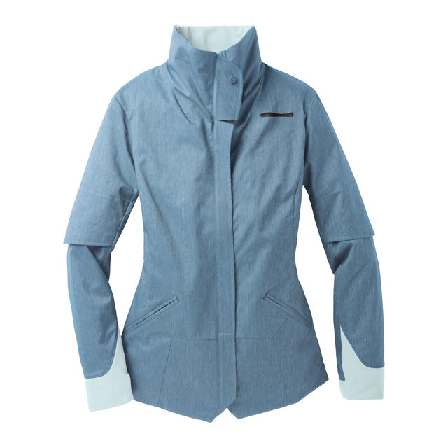 Brooks Lady Shelter Jacket PP in Breeze