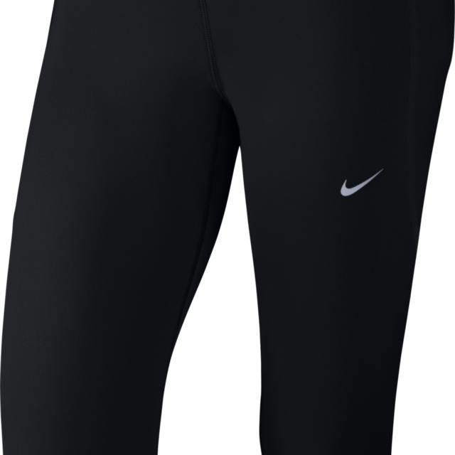 Nike Lady Tech Capri in Schwarz
