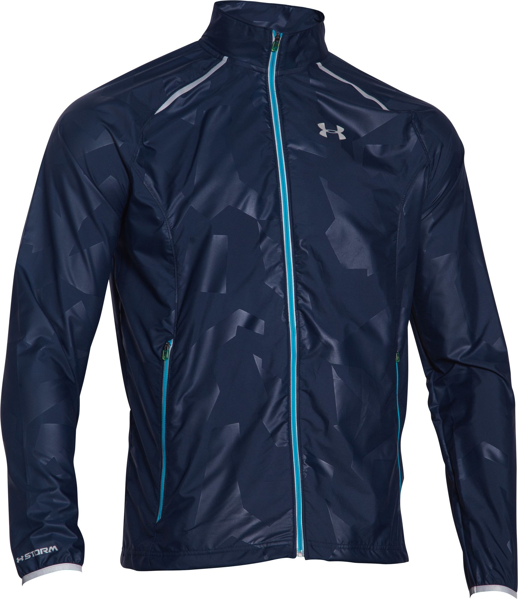 Under Armour Storm Launch Run Jacket in Dunkelblau