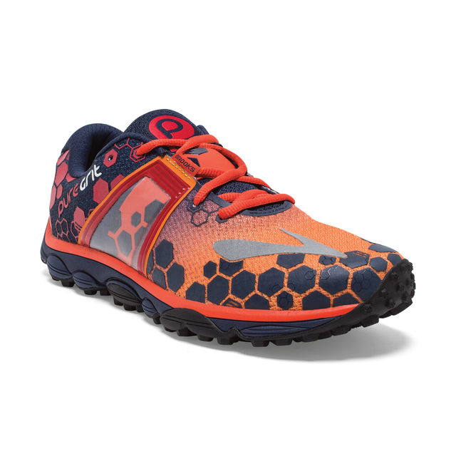 Brooks Puregrit 4 in Orange