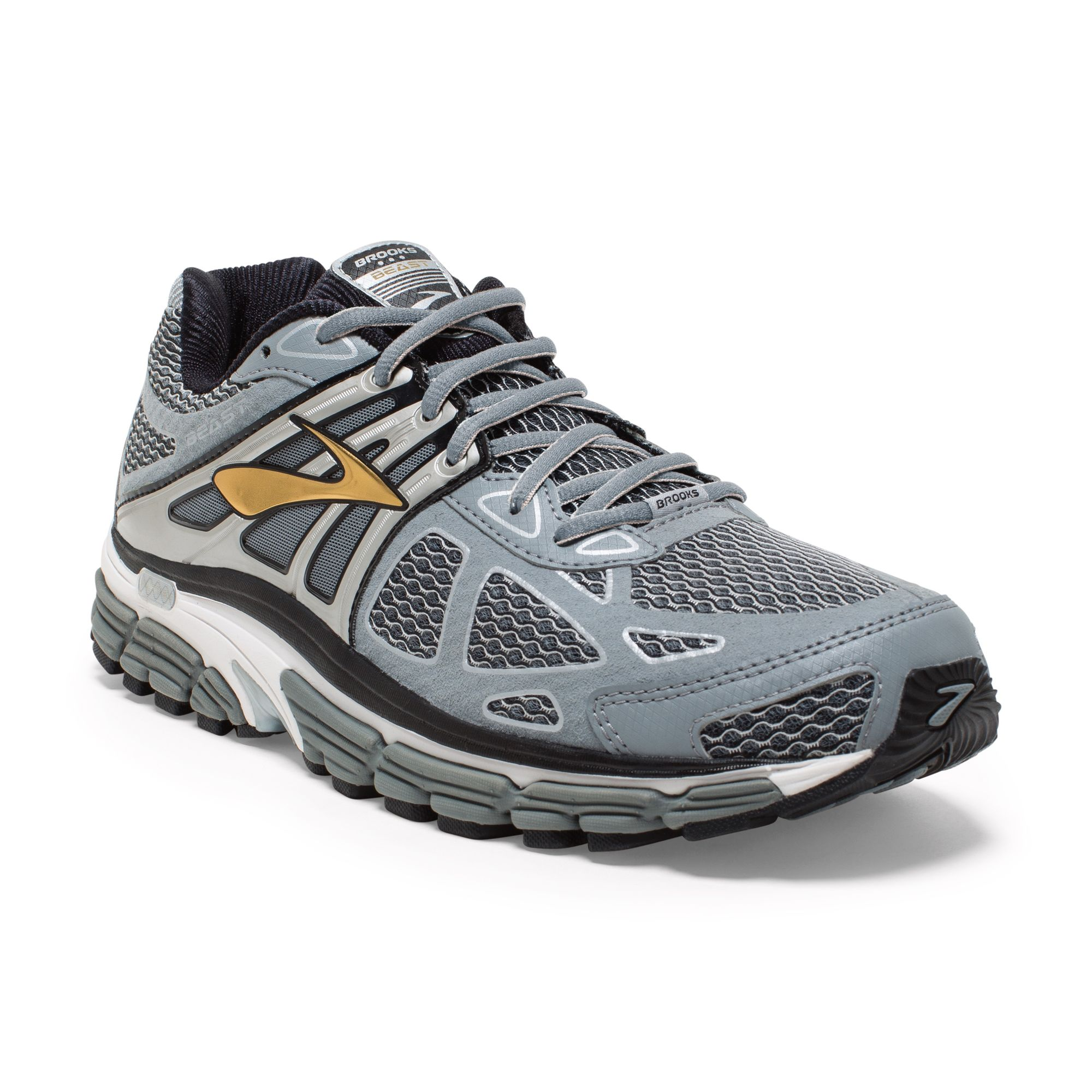 Brooks Beast 14 in Grau