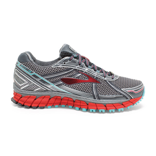 Brooks Lady Adrenaline ASR 12 GTX in Grau Orange
