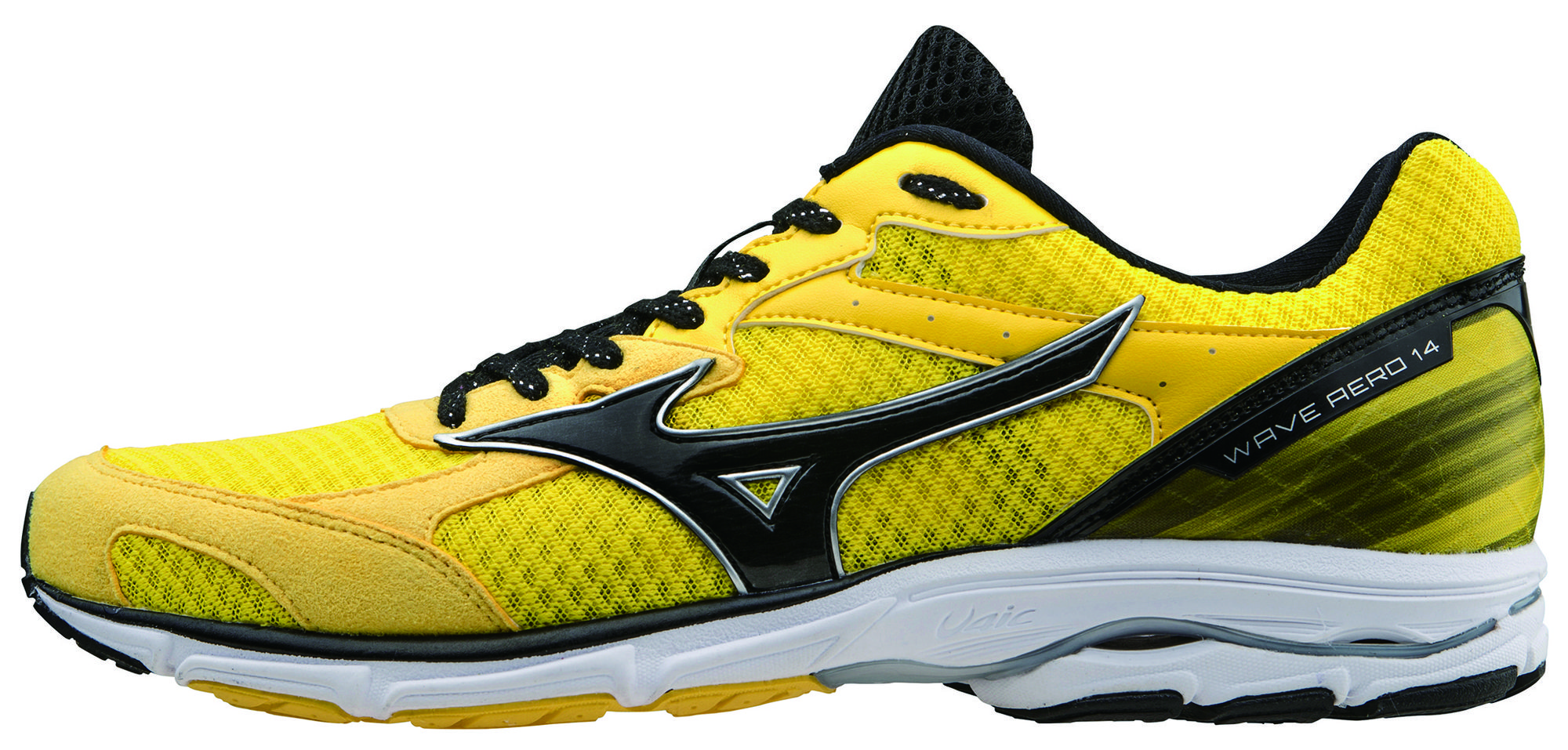 Mizuno Wave Aero 14 in Gelb