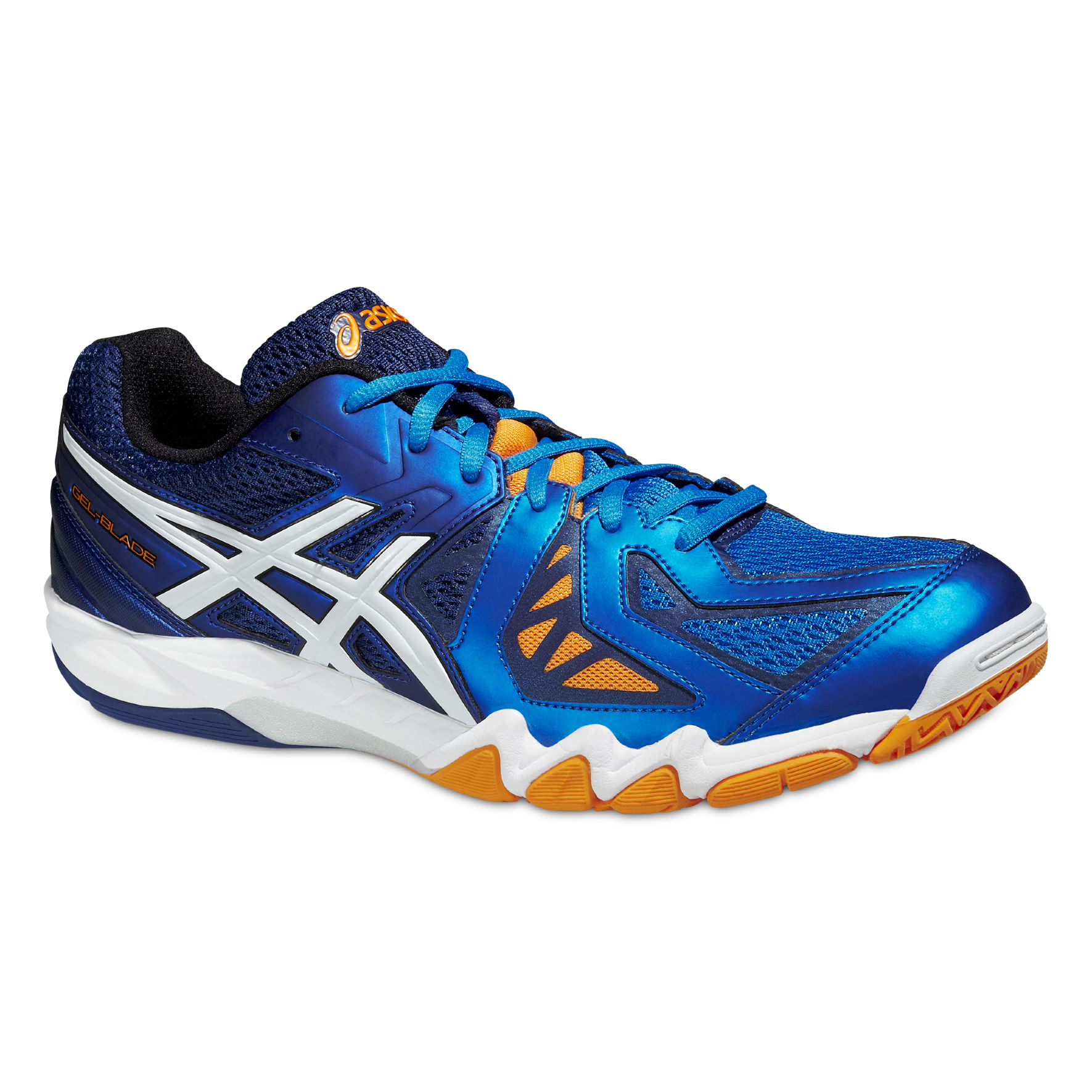 Asics Gel Blade 5 in Blau