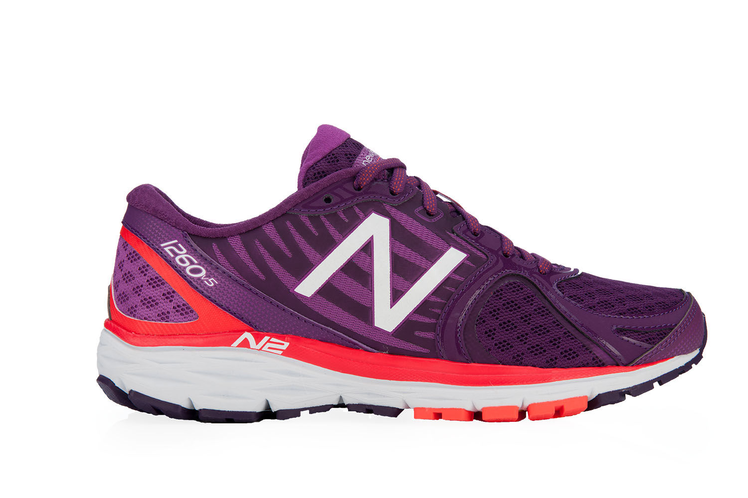 New Balance Lady 1260 V5 in Purple/Orange