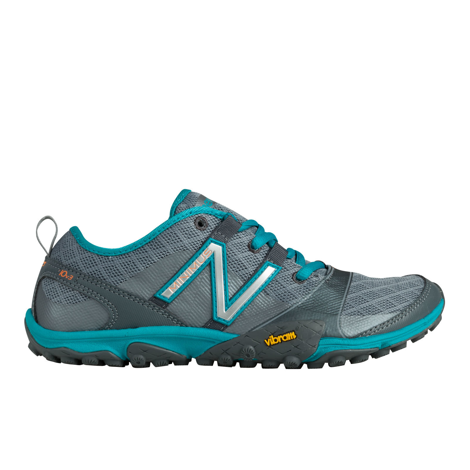 New Balance Lady Minimus Trail in Grey/Teal