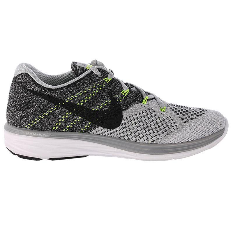 Nike Flyknit Lunar 3 in Grey Black