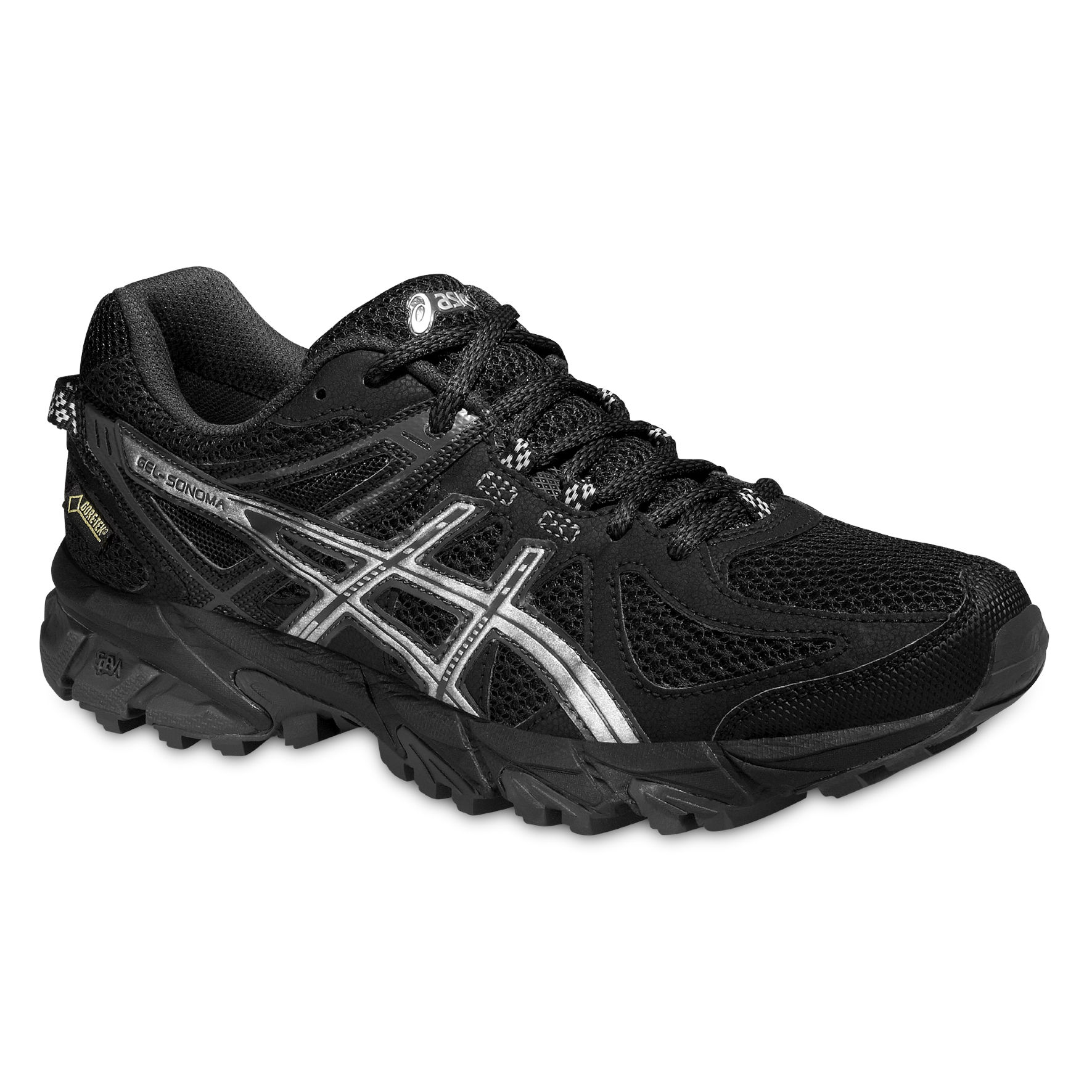 Asics Lady Gel Sonoma GTX in Schwarz