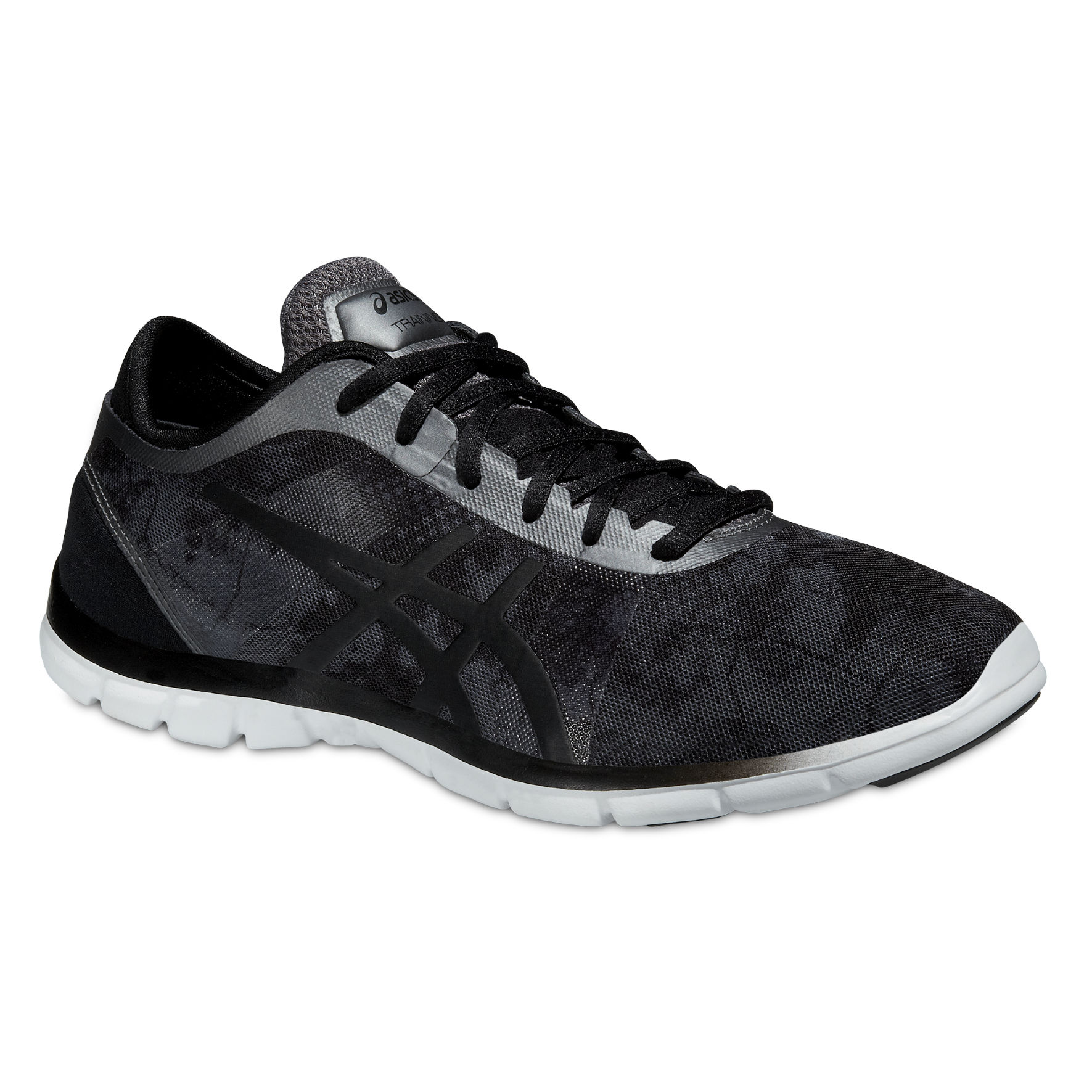 Asics Gel Fit Nova Graphic in Schwarz