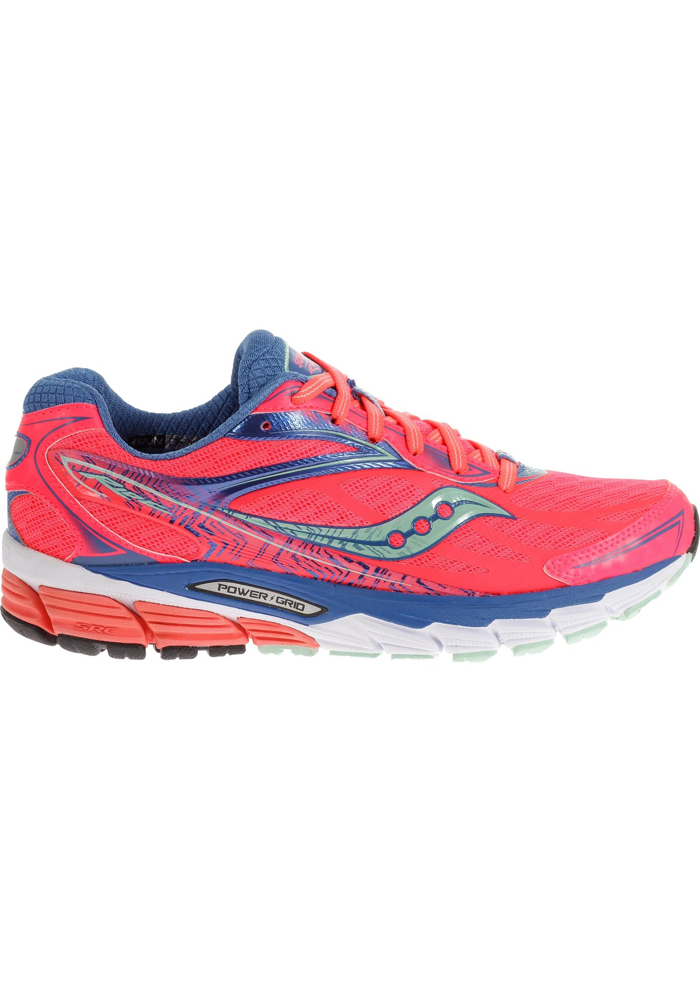 Saucony Lady Ride 8 in Coral