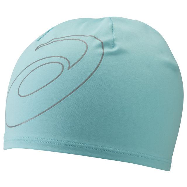 Asics Logo Beanie in Aqua Mint