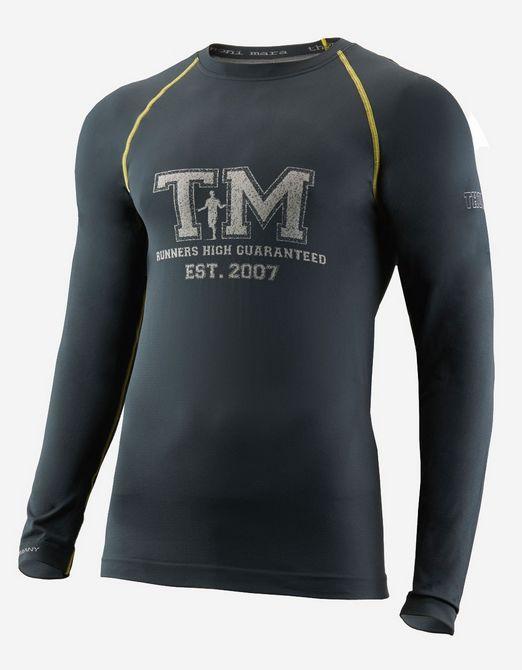 Thonimara Langarmshirt TM in Schwarz