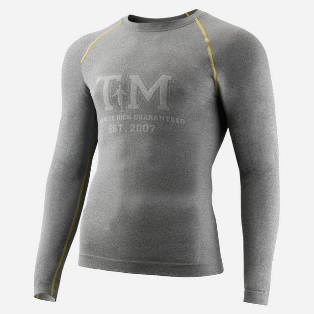 Thonimara Langarmshirt TM in Grau