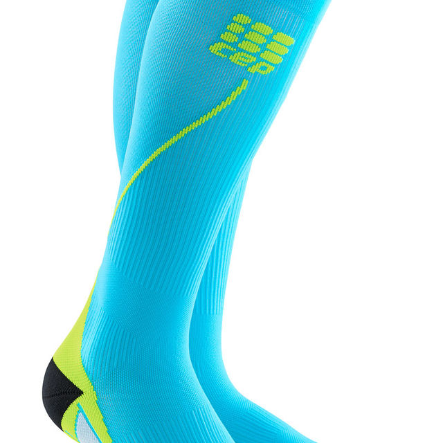 cep Men's Run Socks 2.0 in Hellblau Grün