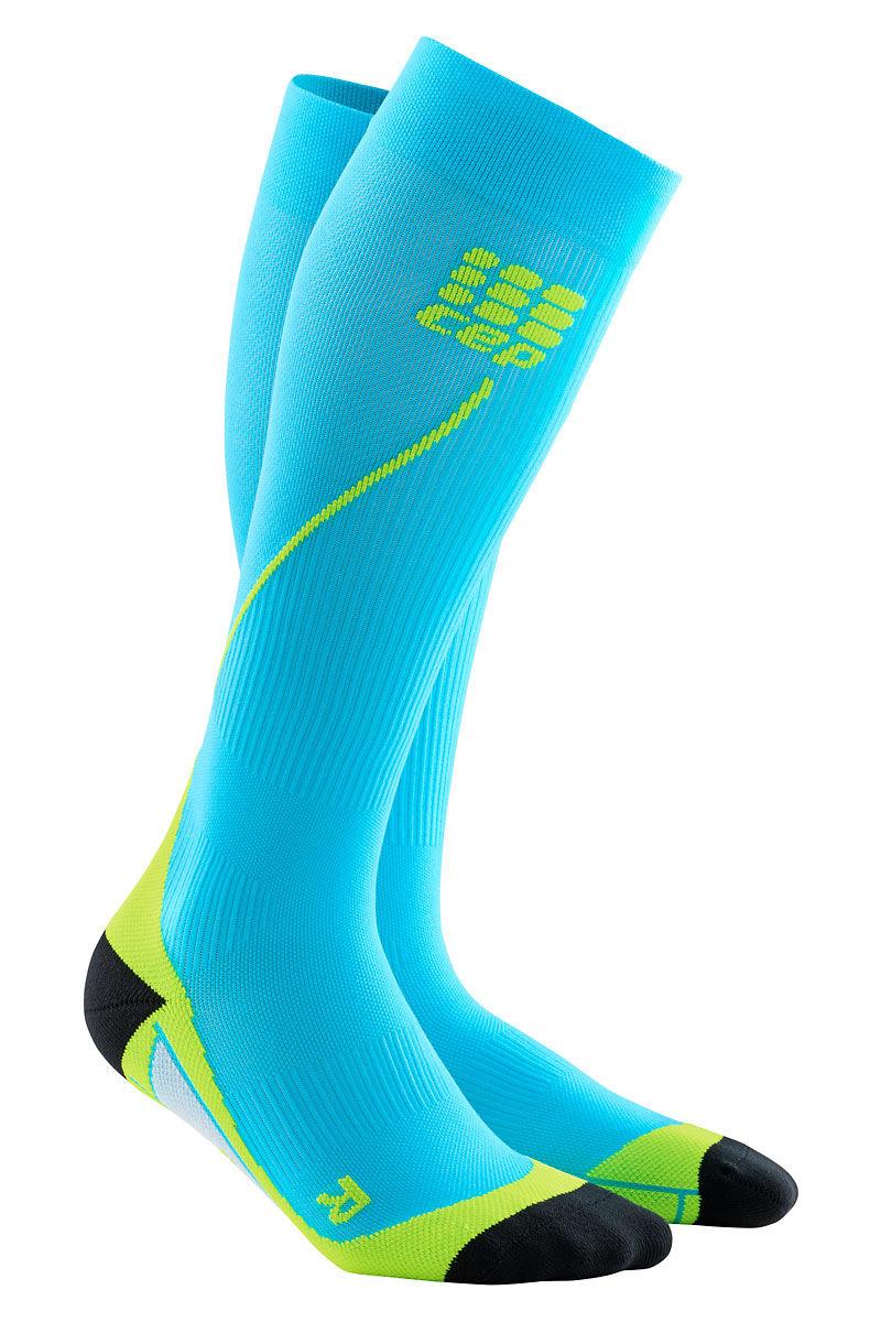 cep Men's Run Socks 2.0 in Hellblau Grün