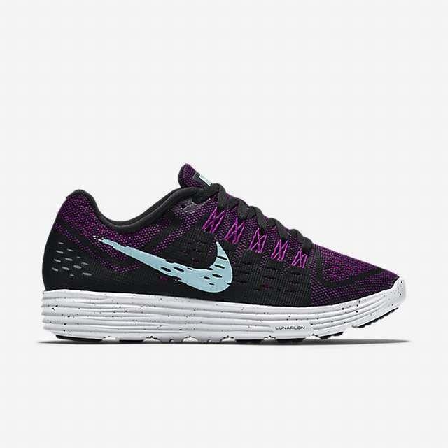 Nike Lady LunarTempo in Schwarz Lila