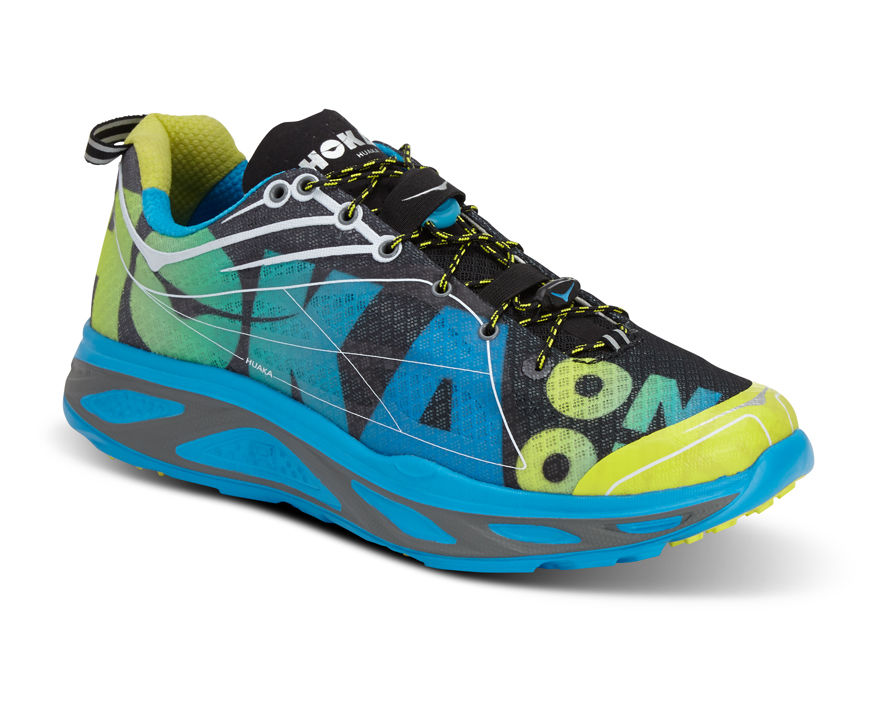 Hoka One One Huaka in Blau Gelb