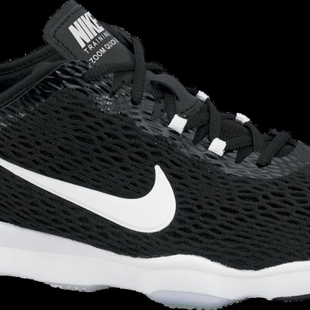 Nike Zoom Fit in Schwarz Weiß