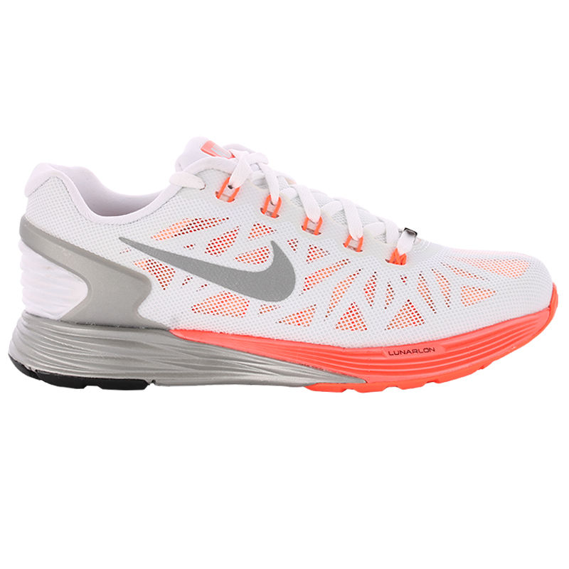 Nike Lady LunarGlide 6 in Weiß