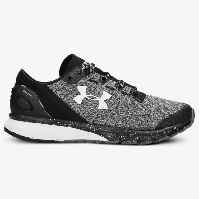 Under Armour Lady Charged Bandit 2 in Schwarz Weiß