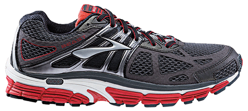 Brooks Beast 14 in Schwarz Rot