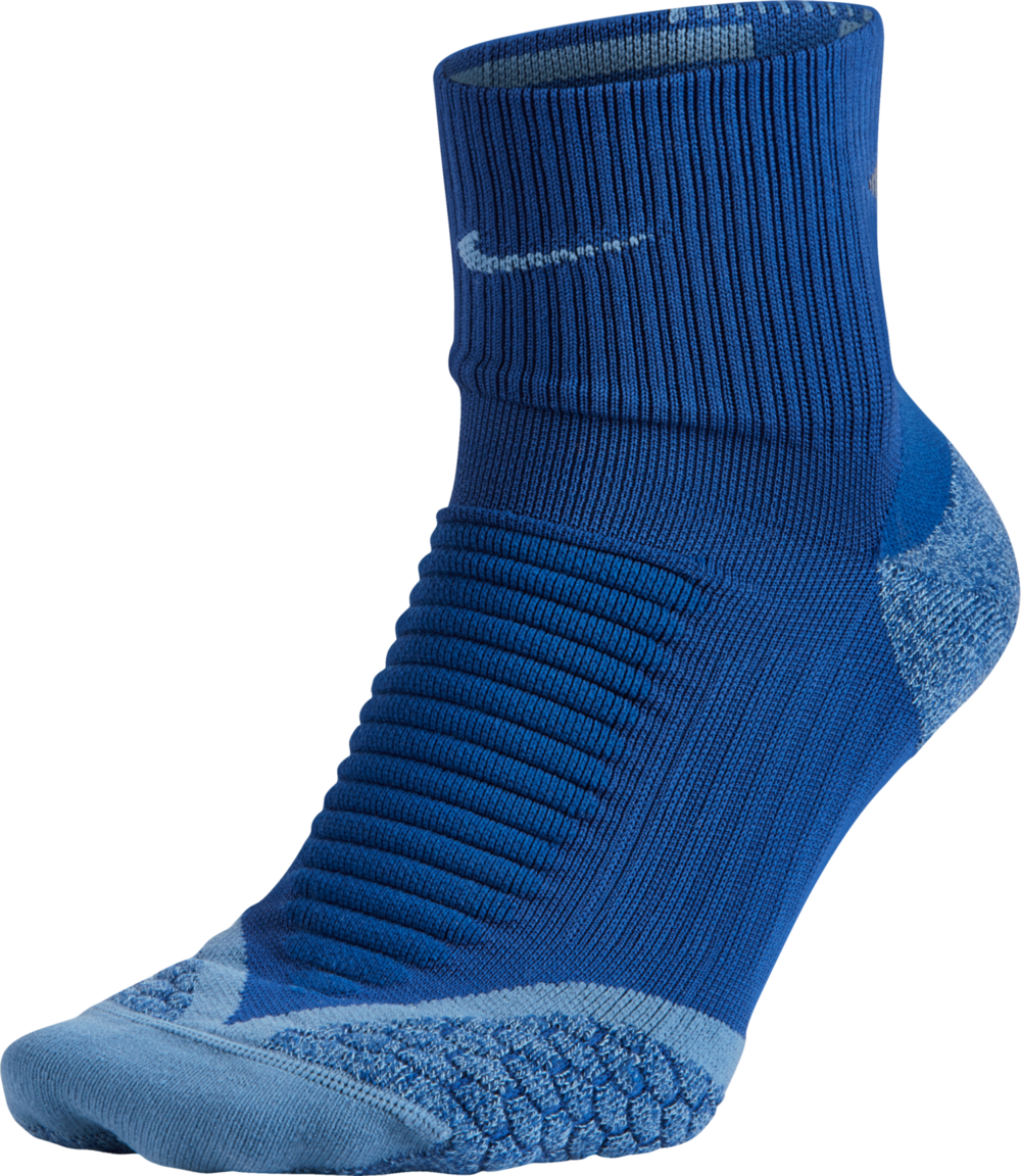 Nike Nike Elite Cushion Quarter in Blau