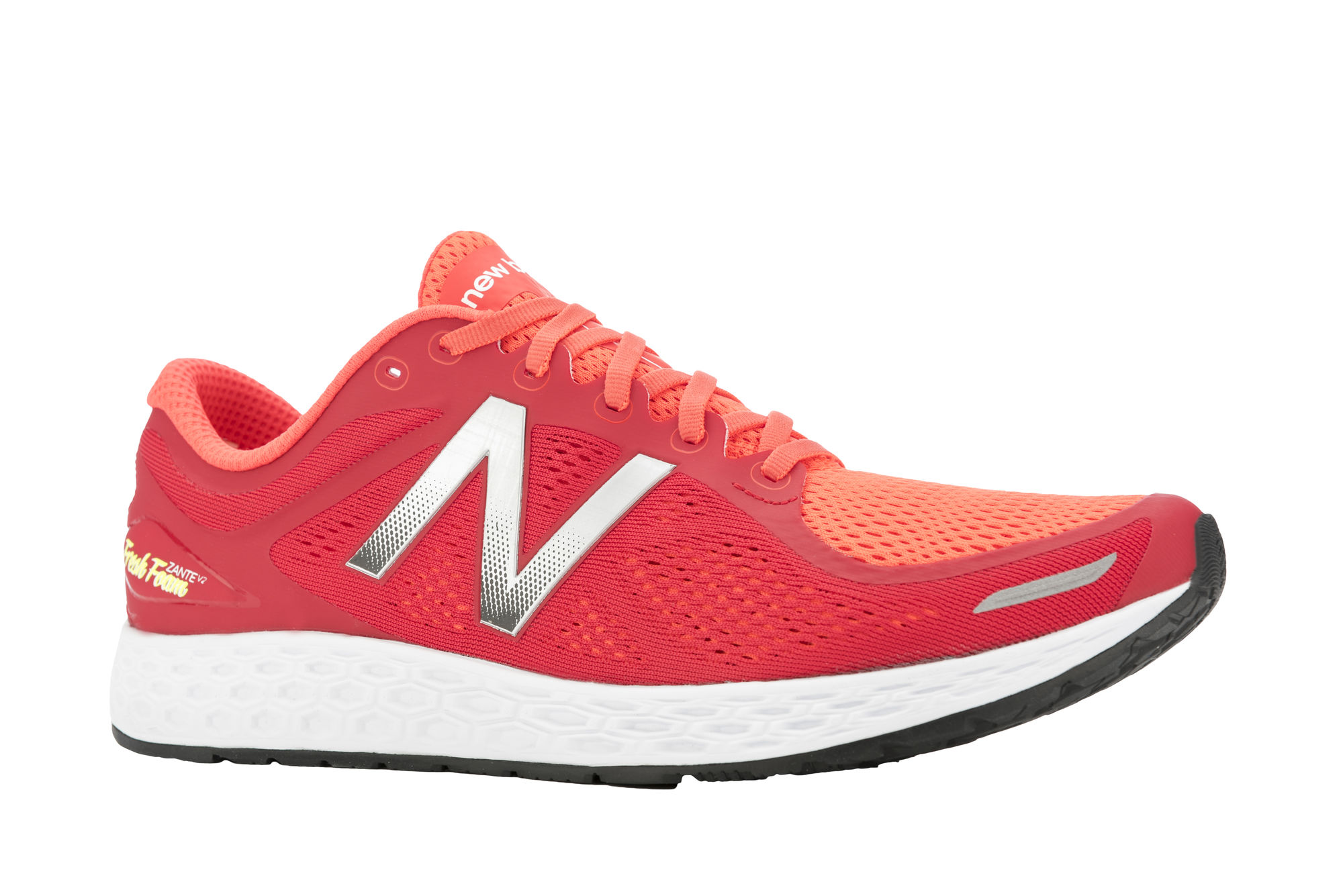 New Balance Zante V2 in Red/Silver