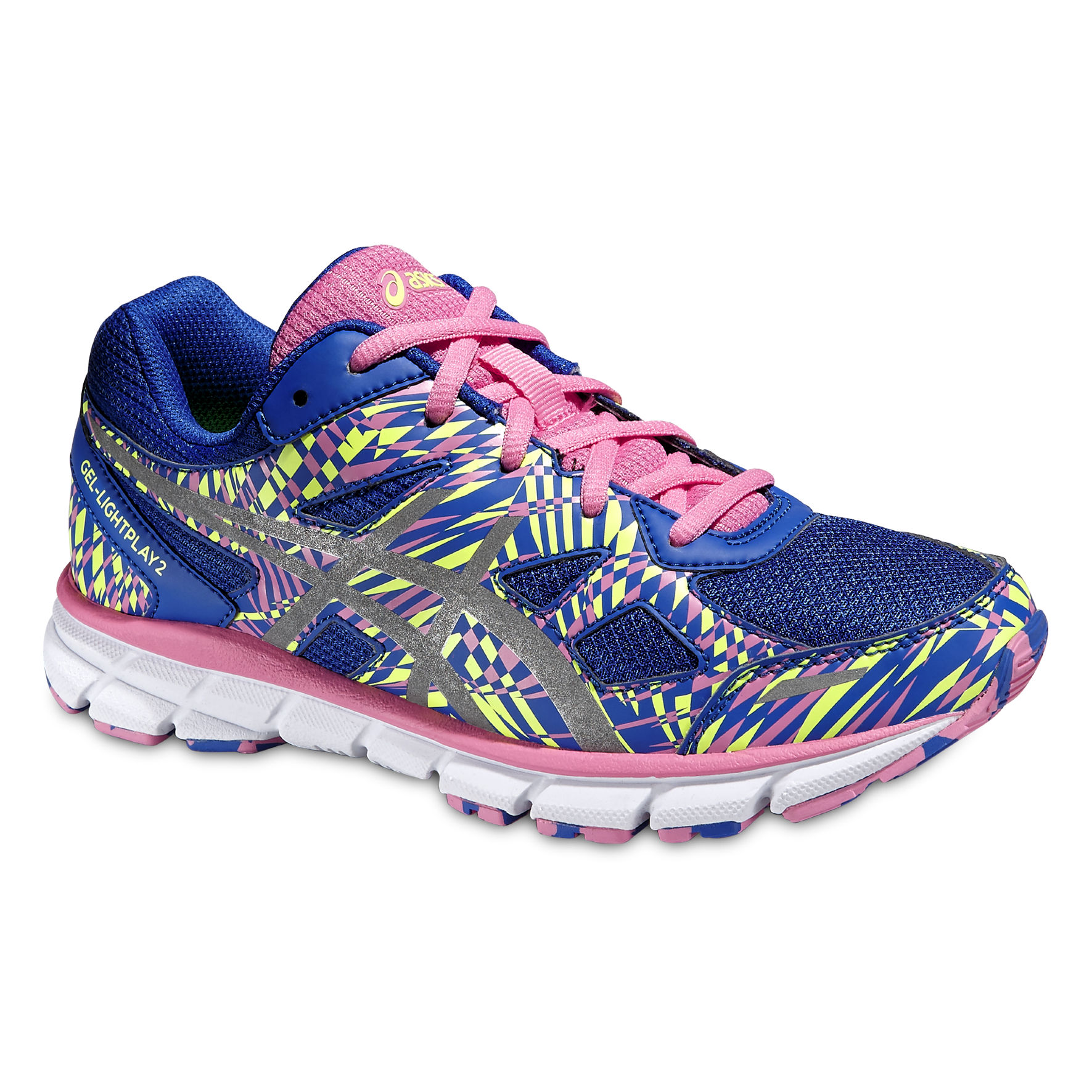 Asics Gel Lightplay 2 GS Girls in Blau Pink