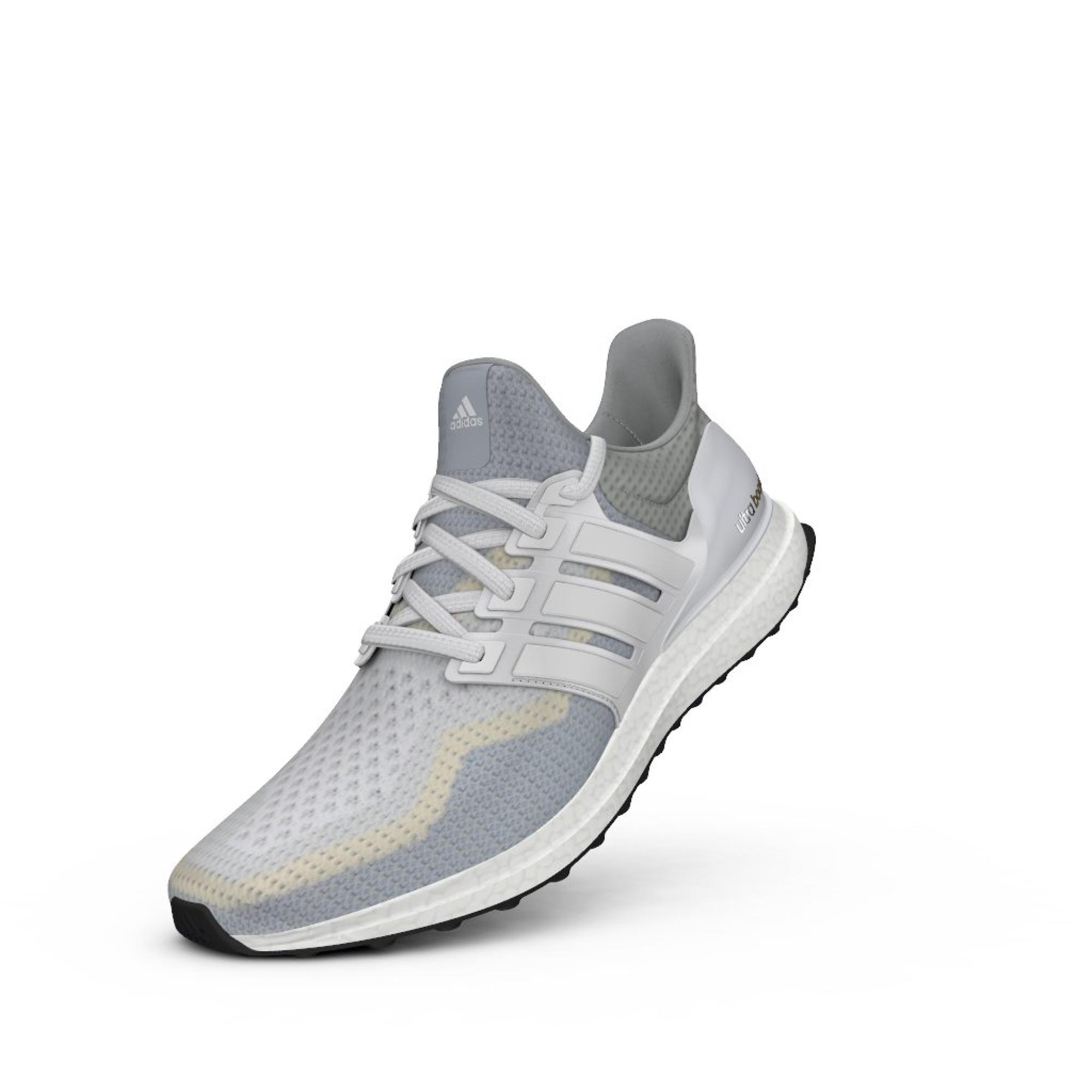 Adidas Lady Ultra Boost in Weiß Grau