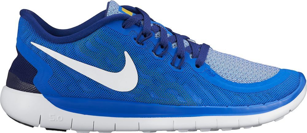 Nike Free 5.0 GS Boys in Blau