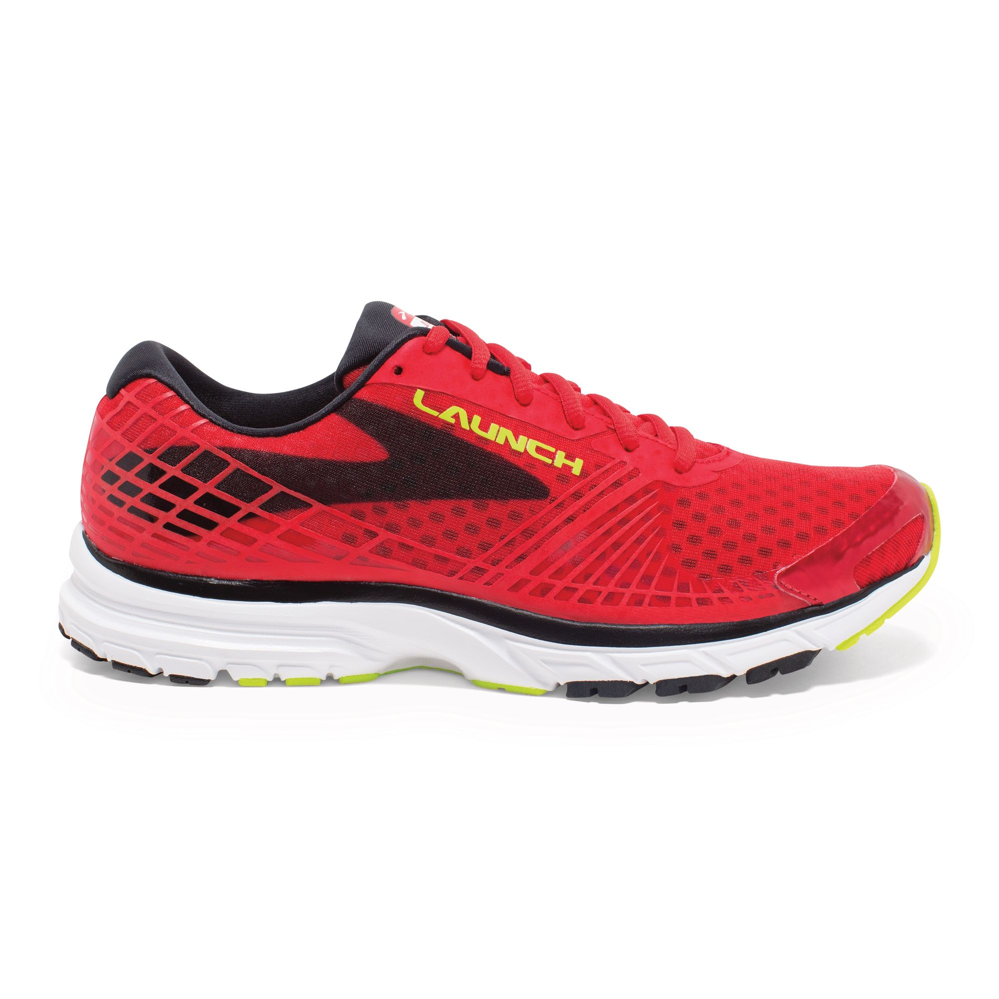 Brooks Launch 3 in Rot