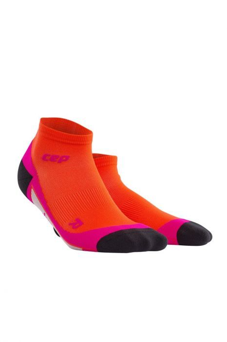 cep Low Cut Socks Women in Orange Pink