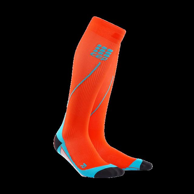 cep Men's Run Socks 2.0 in Orange Blau