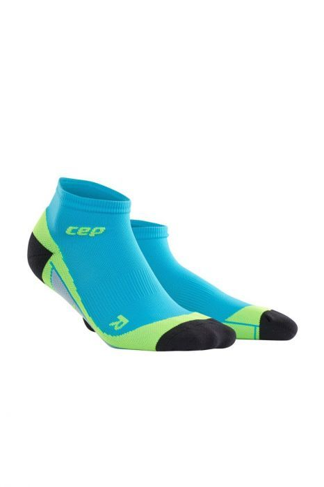 cep Low Cut Socks Men in Blau Grün