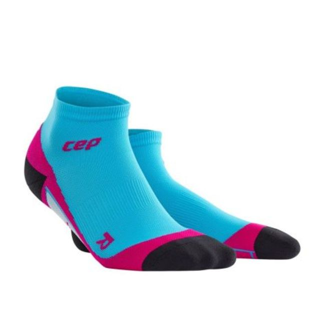 cep Low Cut Socks Women in Blau Pink