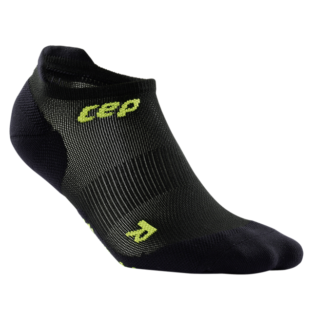 cep Men's Ultralight No Show Socks in Schwarz
