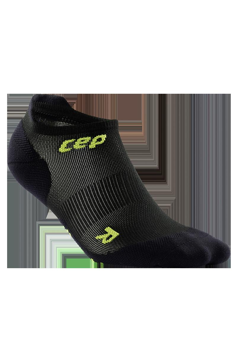 cep Men's Ultralight No Show Socks in Schwarz