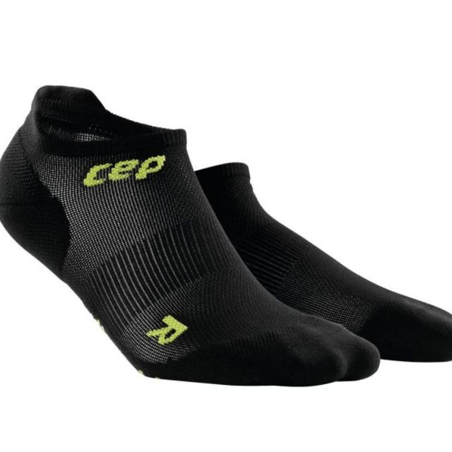 cep Men´s Ultralight No Show Socks in Schwarz