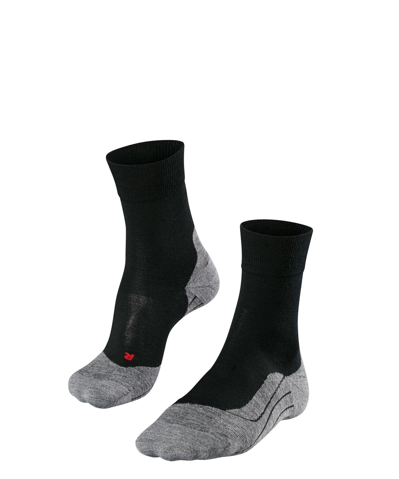 Falke RU4 Wool in Schwarz