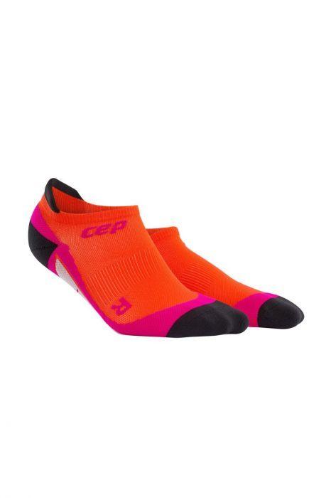 cep No Show Socks Women in Orange Pink