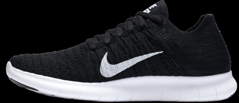 Nike Lady Free Run Flyknit in Schwarz