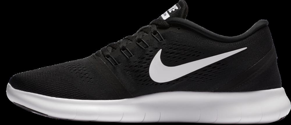 Nike Free Run in Schwarz