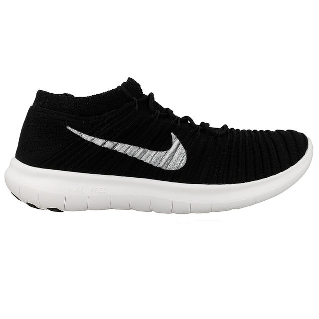 Nike Free Run Motion Flyknit in Schwarz